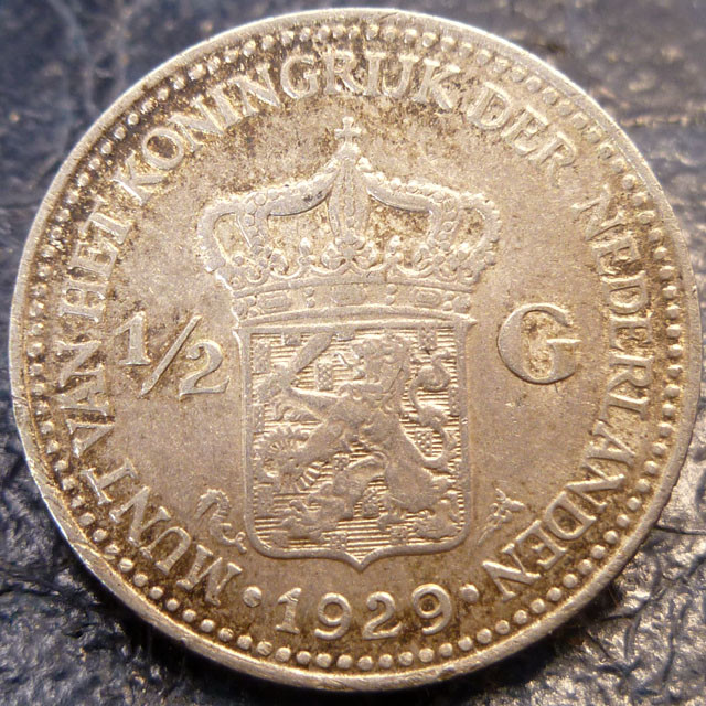 1929 HOLLAND 12 G 720     SILVER COIN CO 1426