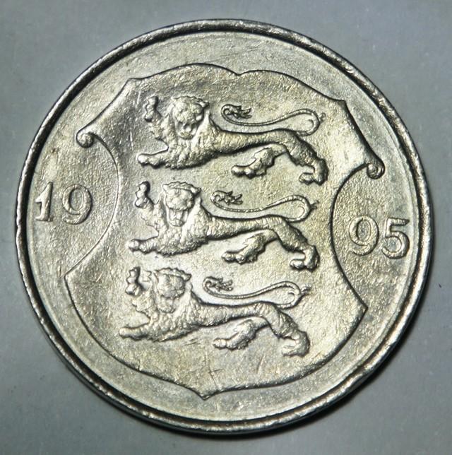 Estonia 1 Kroon 1995 KM#28