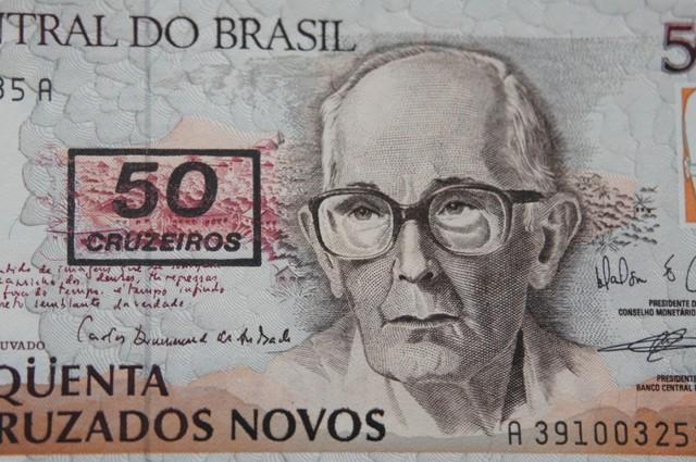 Brazil 50 Cruzados UNC