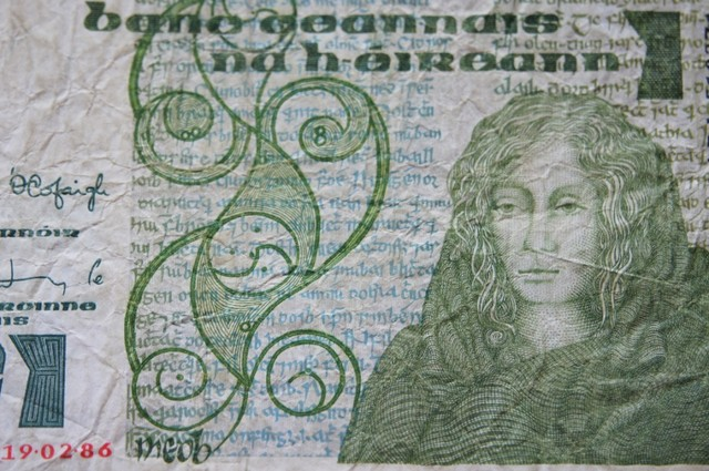 Ireland 1 Pound 1986