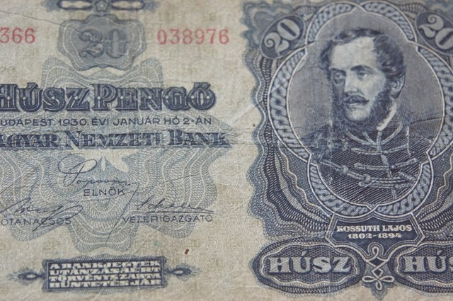 Hungary Húsz (20) Pengő 1930 (Kossuth Lajos)