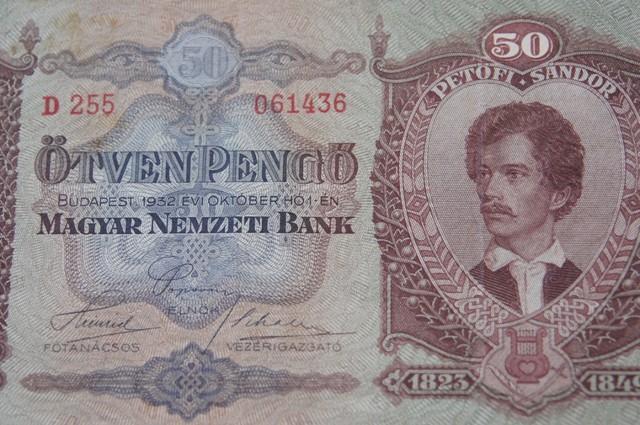 Hungary Ötven (50) Pengő 1932