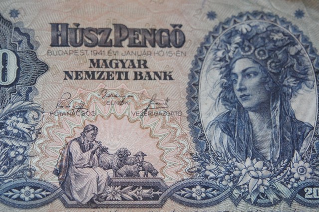 Hungary Húsz (20) Pengő 1941
