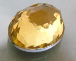 GOLDEN FACETED QUARTZ- DOUBLET 4.10 CTS FP-640 (PG-GR)