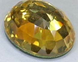 GOLDEN FACETED QUARTZ - DOUBLET 3.85 CTS FP-806 (PG-GR)
