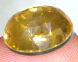 GOLDEN FACETED QUARTZ- DOUBLET 3.70 CTS FP-811 (PG-GR)