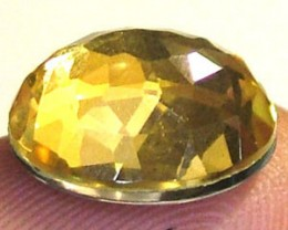 GOLDEN FACETED QUARTZ- DOUBLET 3.50 CTS FP-812 (PG-GR)