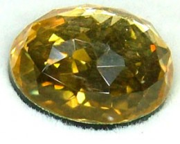 GOLDEN FACETED QUARTZ -DOUBLET 3.95 CTS FP-858 (PG-GR)