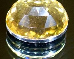 GOLDEN FACETED QUARTZ- DOUBLET 3.70 CTS FP-861 (PG-GR)