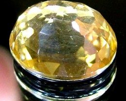 GOLDEN FACETED QUARTZ- DOUBLET 3.75 CTS FP-863 (PG-GR)