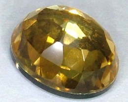 GOLDEN FACETED QUARTZ -DOUBLET 4.30 CTS FP-935 (PG-GR)