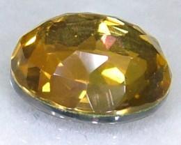 GOLDEN FACETED QUARTZ- DOUBLET 3.95 CTS FP-936 (PG-GR)