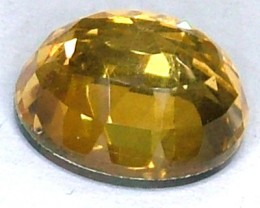 GOLDEN FACETED QUARTZ -DOUBLET 4.30 CTS FP-938 (PG-GR)