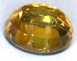 GOLDEN FACETED QUARTZ -DOUBLET 4.30 CTS FP-938 (PG-GR)