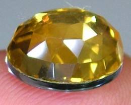 GOLDEN FACETED QUARTZ- DOUBLET 4.15 CTS FP-940 (PG-GR)