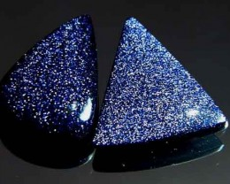 Sparkingly Blue Galaxy Sun Sitara Stone A650