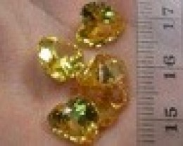 COLOURED STONES 5PIECES 30.40CTS G1485