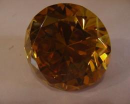 434 CTS  YELLOW GOLDEN TOPAZ 11124
