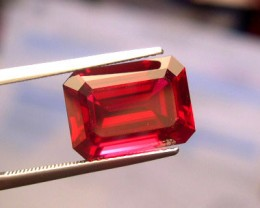 VERY NICE VERNEUIL RUBY PIGEON BLOOD RED COLOR 6x8mm