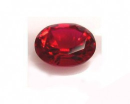 VERY NICE VERNEUIL RUBY PIGEON BLOOD RED COLOR 8x10MM