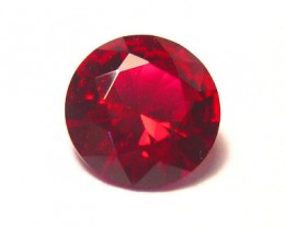 VERY NICE VERNEUIL RUBY PIGEON BLOOD RED 10MM