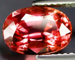 VERY NICE PADPARADSCHA VERNEUIL SAPPHIRE 12x14MM