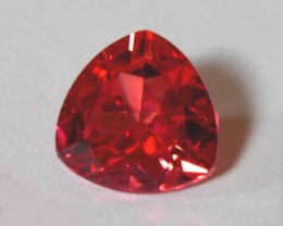 VERY NICE PADPARADSCHA VERNEUIL SAPPHIRE 10x10x10MM TRILLION