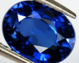 VERY NICE ROYAL BLUE VERNEUIL SAPPHIRE 6x8MM