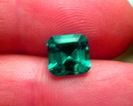 VERY NICE HYDROTHERMAL EMERALDS 8X8 MM and 2,05 CTS