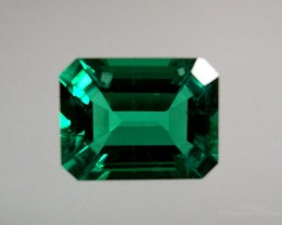 VERY NICE HYDROTHERMAL EMERALD  2,05 CTS ..9x7 MM