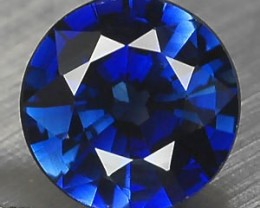 VERY NICE ROYAL BLUE VERNEUIL SAPPHIRE ROUND  8MM