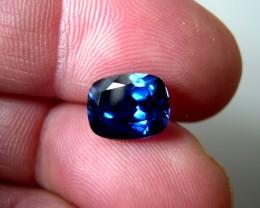 VERY NICE ROYAL BLUE VERNEUIL SAPPHIRE CUSHION 8x10MM
