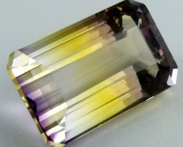 DAZZLING BI COLOR GEMSTONE (SYNTHETIC) 22.10  CARATS PG 72