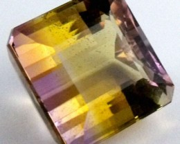 DAZZLING BI COLOR GEMSTONE (SYNTHETIC) 25.25 CARATS  PG 80