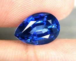 TOP QUALITY CORNFLOWER BLUE VERNEUIL SAPPHIRE 13x9mm 5,80cts
