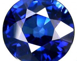 TOP QUALITY CORNFLOWER BLUE VERNEUIL SAPPHIRE 12mm 7,90cts
