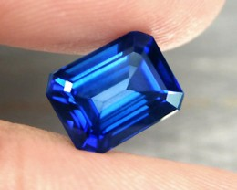 TOP QUALITY CORNFLOWER BLUE VERNEUIL SAPPHIRE 6x8mm 2,20cts