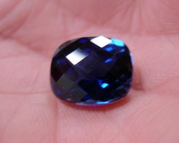 TOP QUALITY CORNFLOWER BLUE VERNEUIL SAPPHIRE 7,84ct 12x10mm