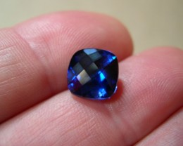 TOP QUALITY ROYAL BLUE VERNEUIL SAPPHIRE 5,95 cts..10x10mm