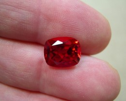 TOP QUALITY VERNEUIL GOLDEN RUBY 8x10 MM...3,80 CTS