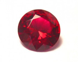 HIGH QUALITY RUOND PIGEON BLOOD RED VERNEUIL RUBY 8mm