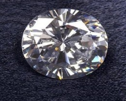 VERY NICE OVAL 6x4MM CUBIC ZIRCONIA