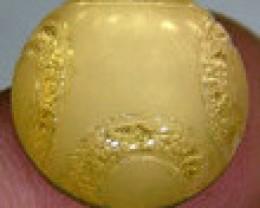 GOLDEN QUARTZ-DOUBLET  10.3  CTS   MA-42