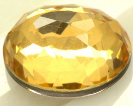 GOLDEN QUARTZ-DOUBLET 3.85   CTS   MA-55