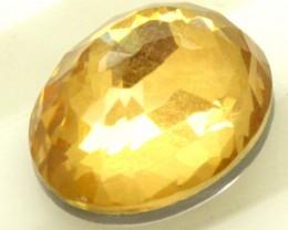 GOLDEN QUARTZ-DOUBLET  4.05  CTS   MA-56