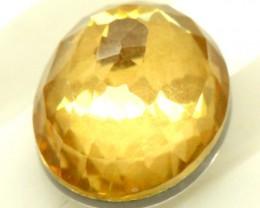 GOLDEN QUARTZ-DOUBLET 3.75   CTS   MA-73