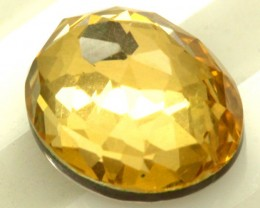GOLDEN QUARTZ-DOUBLET 3.65   CTS   MA-80