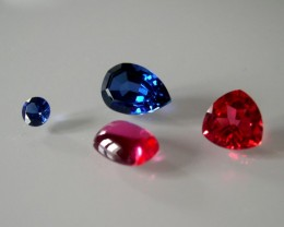 4 VERNEUIL SAPPHIRES