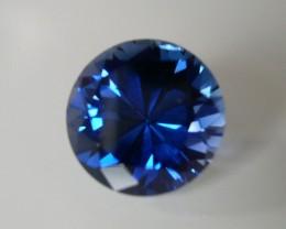 VERY NICE VERNEUIL SAPPHIRE CASHMIR BLUE 12MM
