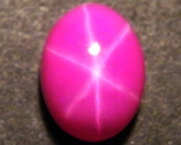 CAB TREATED STAR RUBY $5.00 PER CARAT  3.80 CT RM 581